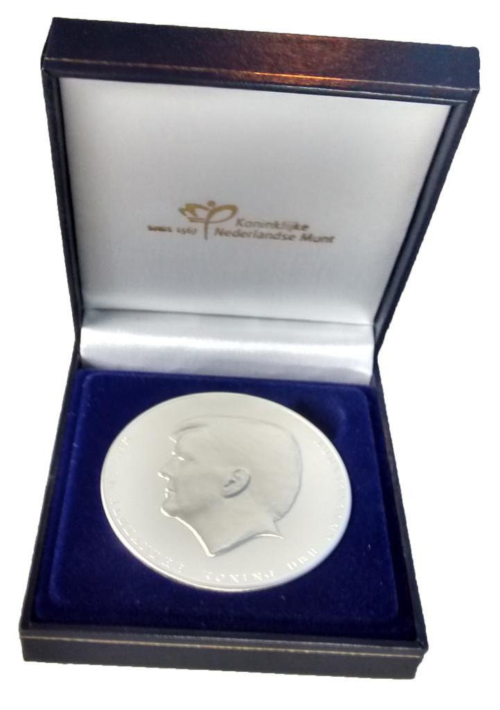 Medaille Koning Willem Alexander